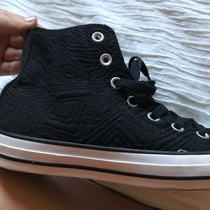 NWOT Quilted Converse